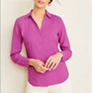 Ann Taylor long Sleeve Essential shirt